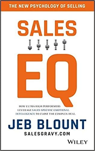 Book Review – Sales EQ by Jeb Blount @SalesGravy