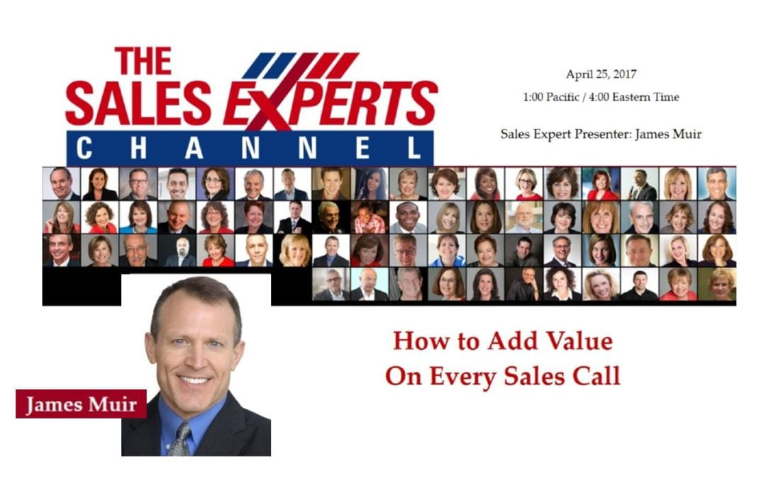 How to Add Value On Every Sales Call (& Why's It's Absolutely Critical That You Do)