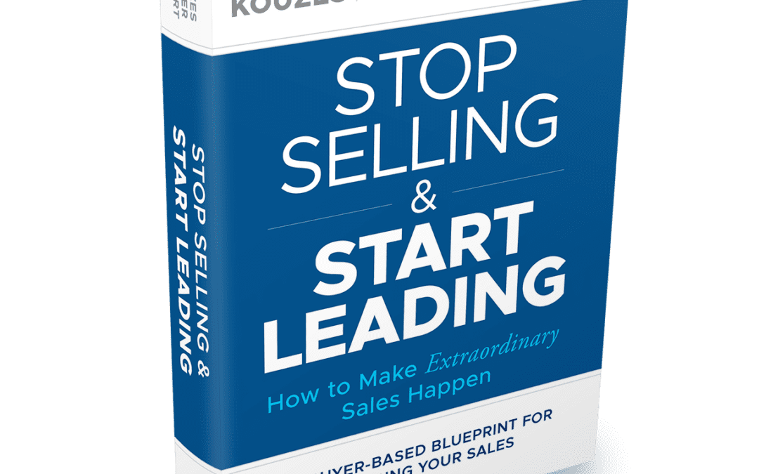 Book Review of Stop Selling & Start Leading by Deb Calvert @PeopleFirstPS