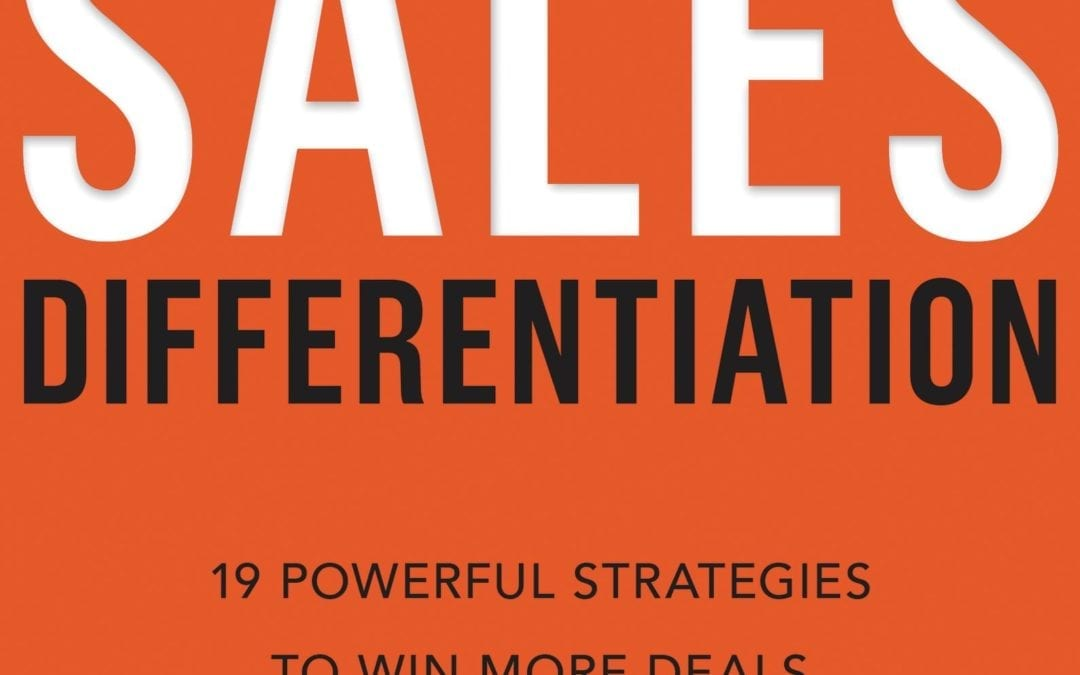 Book Review of Sales Differentiation by Lee Salz @SalesArchitects